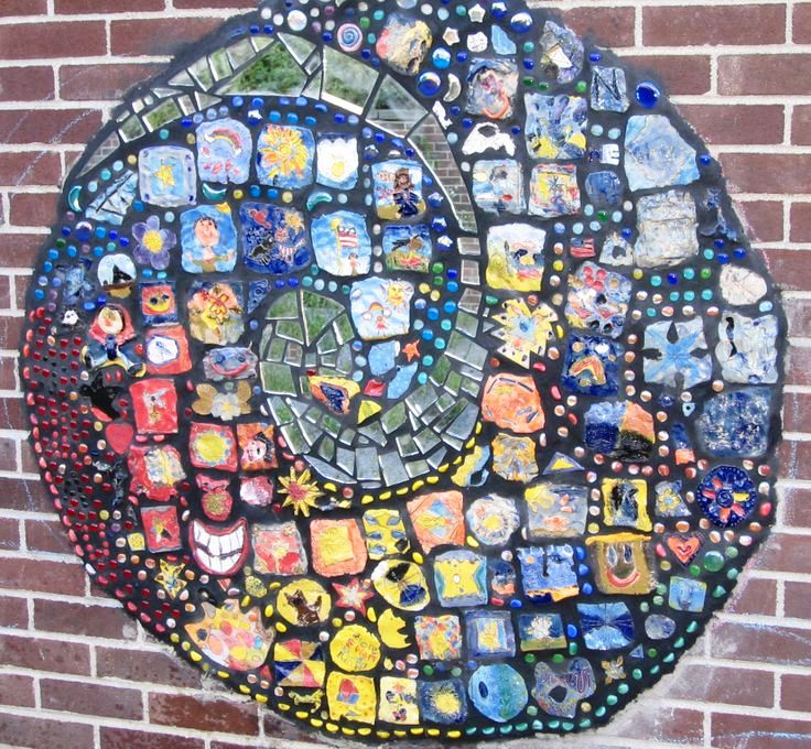 Clay And Glass Tile Murals Clay For Kids