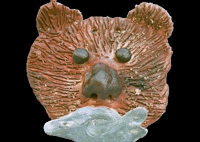 Inuit Mask-Bear
