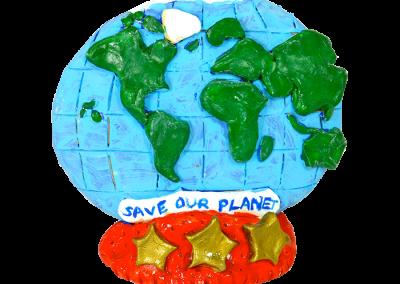 Planet Earth Plaque
