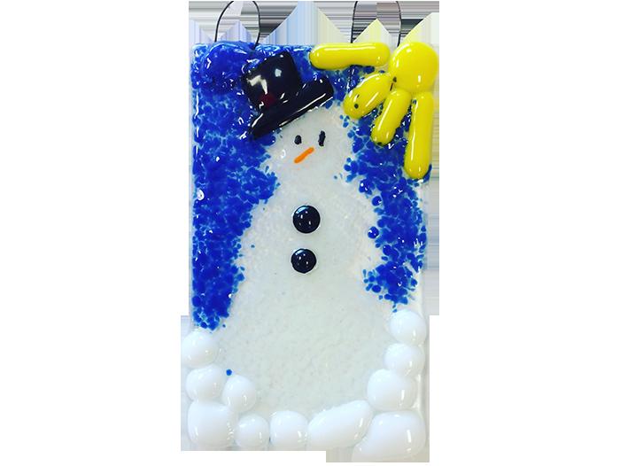 Snowman-Glass