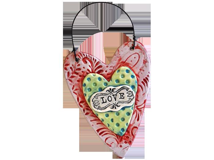 Textured-Heart-Plaque
