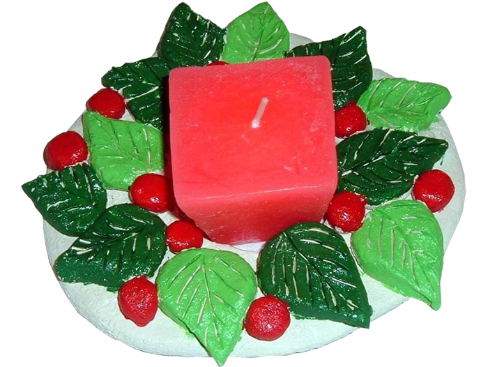 Wreath-Candle-Holder