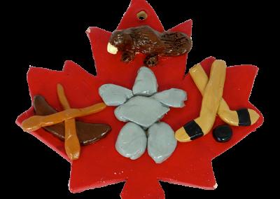 Canadian Symbols Leaf