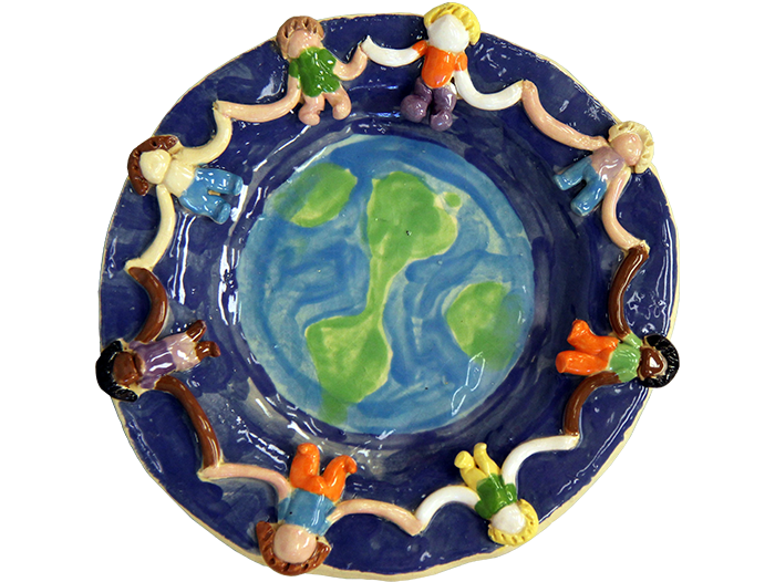 Children-of-the-World-Plate