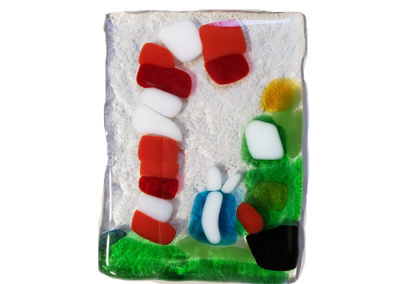 Christmas Themed- Fused Glass