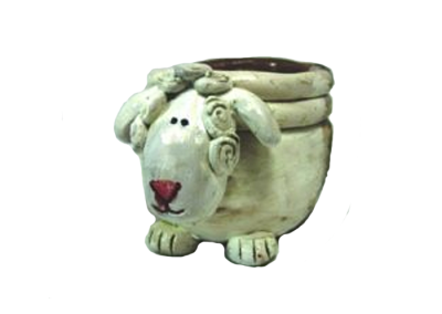 Coil Pot – Sheep