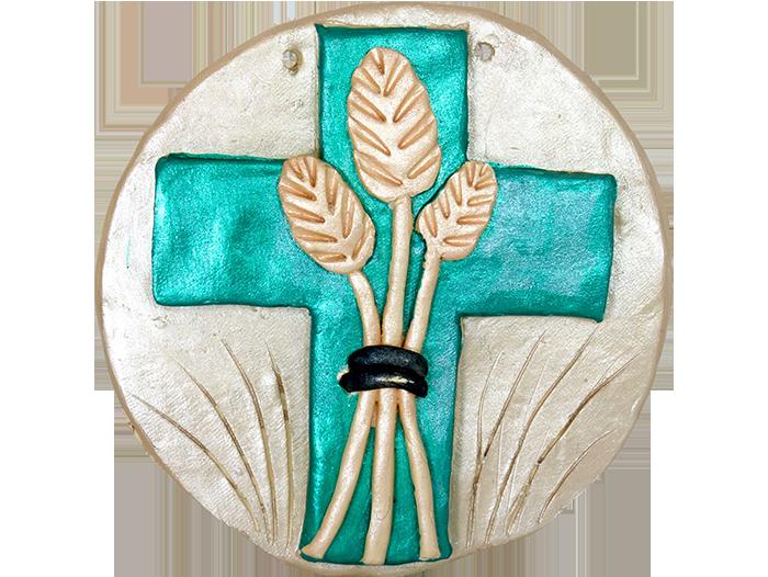 Crucifix-Plaque