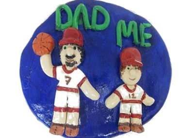 Dad & Me Plaque