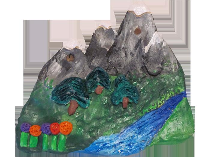 Environmental-Scene-Plaque-Mountains