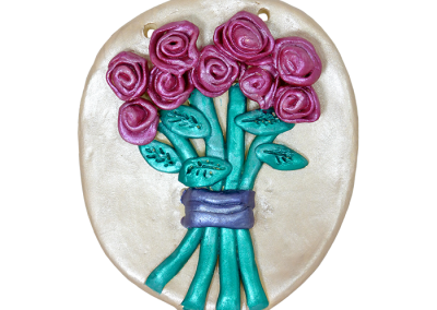Flower Bouquet Plaque