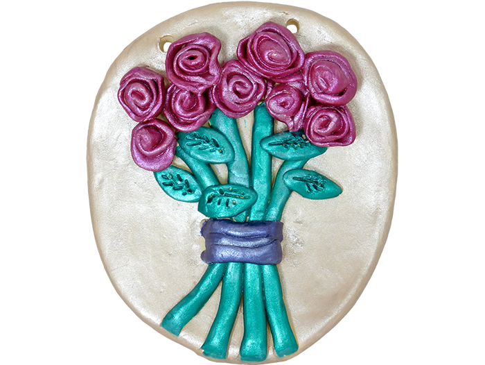 Flower-Bouquet-Plaque