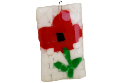 Flowers- Fused Glass