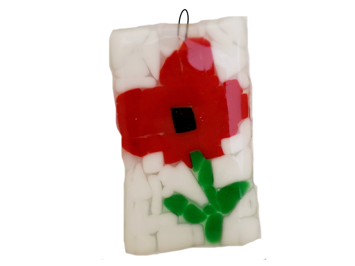 Flowers-Fused-Glass