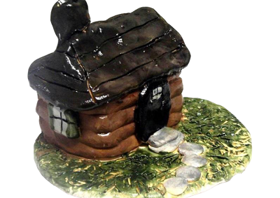 Log School House