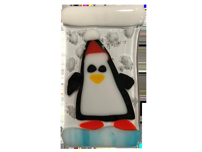 Penguin-Fused-Glass