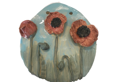 Poppies Plaque