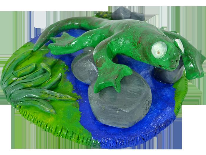 Wetlands-Frog