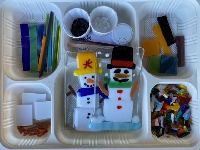 5X3 Suncatcher Kit – Snowman