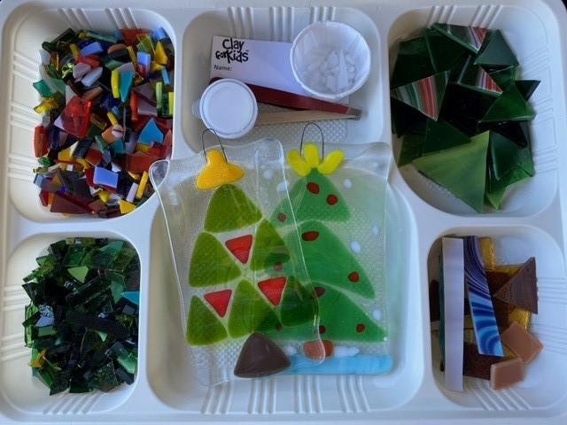 5×3 Suncatcher Kit – Christmas Tree
