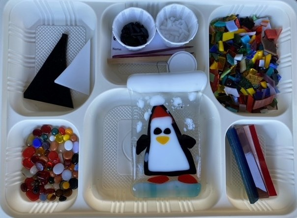 5×3 Suncatcher Kit – Penguin
